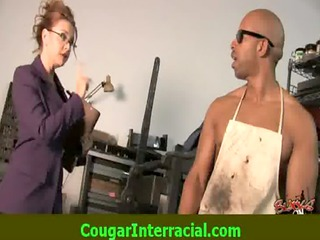 interracial sex - sexy cougar d like to fuck