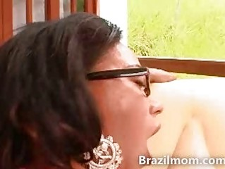 hot latin chick mother i riding a large schlong