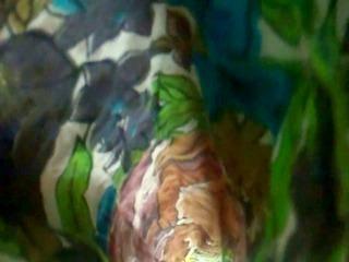 upskirt--long costume latin babe milf