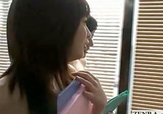 japanese cougar nudist office ladies toy with