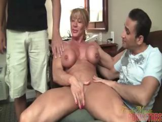 aged muscle worship part 1