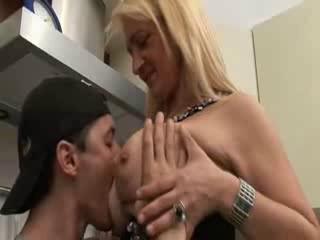 italian mama and son