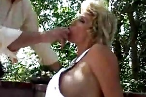 breasty golden-haired mother i deepthroats then