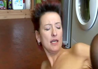sexy mother i catches lad stroking and lets him