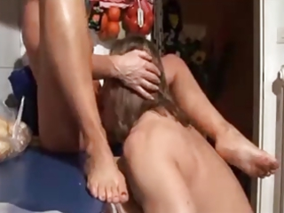 blond mamma and not her son dilettante fuck in
