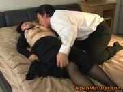 japanese aged sweetheart has hawt sex