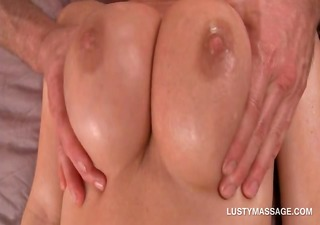 blond angel receives love bubbles and bawdy cleft